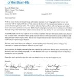 Letter from CBSBH to Quincy Mosque