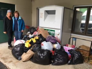 Congregation Beth Shalom of the Blue Hills Winter Clothing Drive to Interfaith Social Services November's Third Thursday Community Service Mitzvah Project